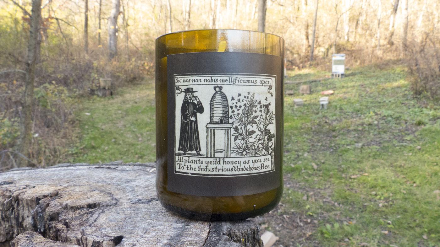 Vandehoney beeswax candle